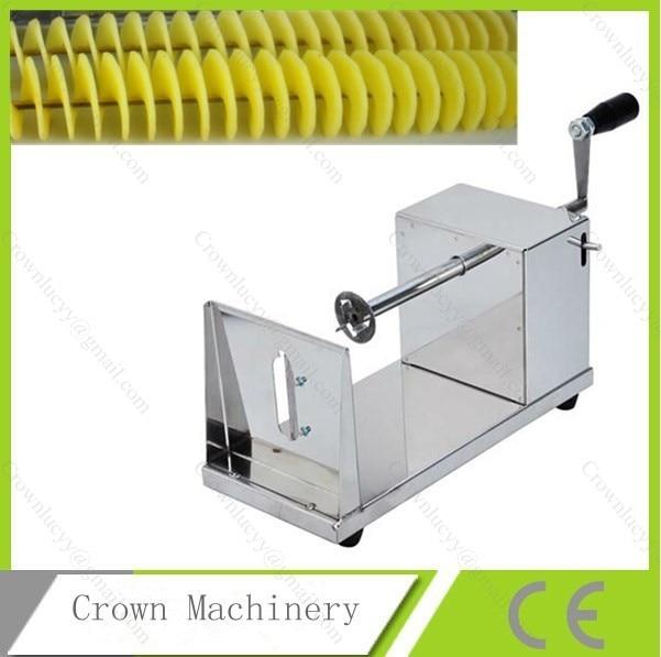 Ручная спиральная машина для картофельных чипсов