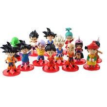 13 stks/partij Dragon Ball Z Action Figures Goku Saiyan Kulilin Chichi Dragonball PVC Figure Collectible Model Toys Gift Voor kids