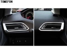 Couvercle de sortie AC   Pour Peugeot 308 2014 2015 2016 T9 SW deuxième génération, protection arrière 5 portes, climatisation avant