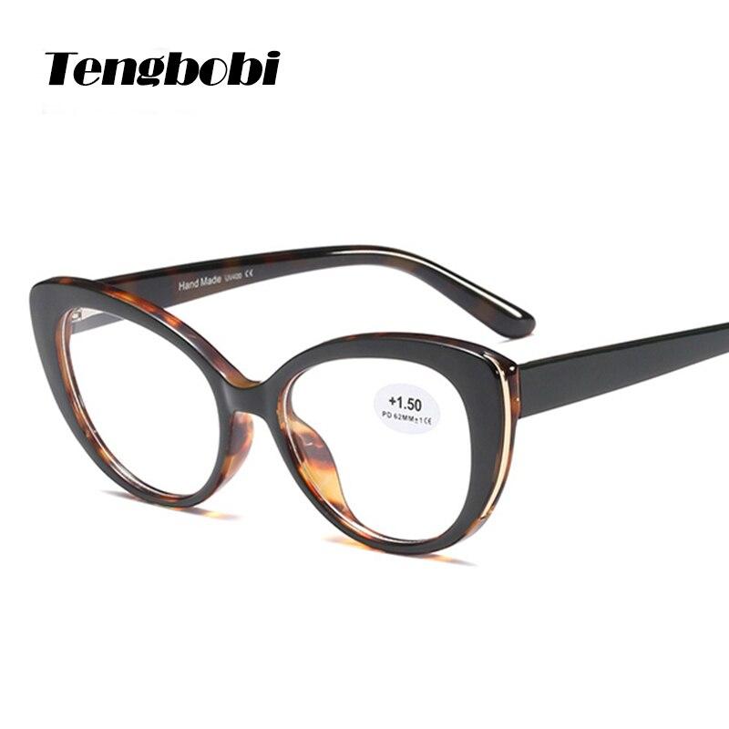 2019 Nova moda olho de Gato Óculos de Leitura 50 fro homens Mulheres Óculos de Leitura + 100 + 150 + 200 + 250 + 300 + 350 + 400 CY282