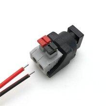 Connecteurs de prise dalimentation pour lumière de bande 5050/3528   1 pièce, connecteur DC avancé femelle, adaptateur dalimentation, connecteurs pour bande
