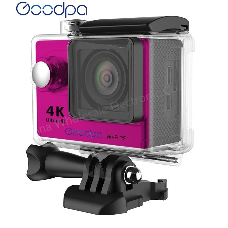 Original 100%GOODPA H9/ H9R Action camera Ultra HD 4K WiFi 1080P/60fps 2.0 LCD 170D lens Helmet Cam waterproof pro sports camera