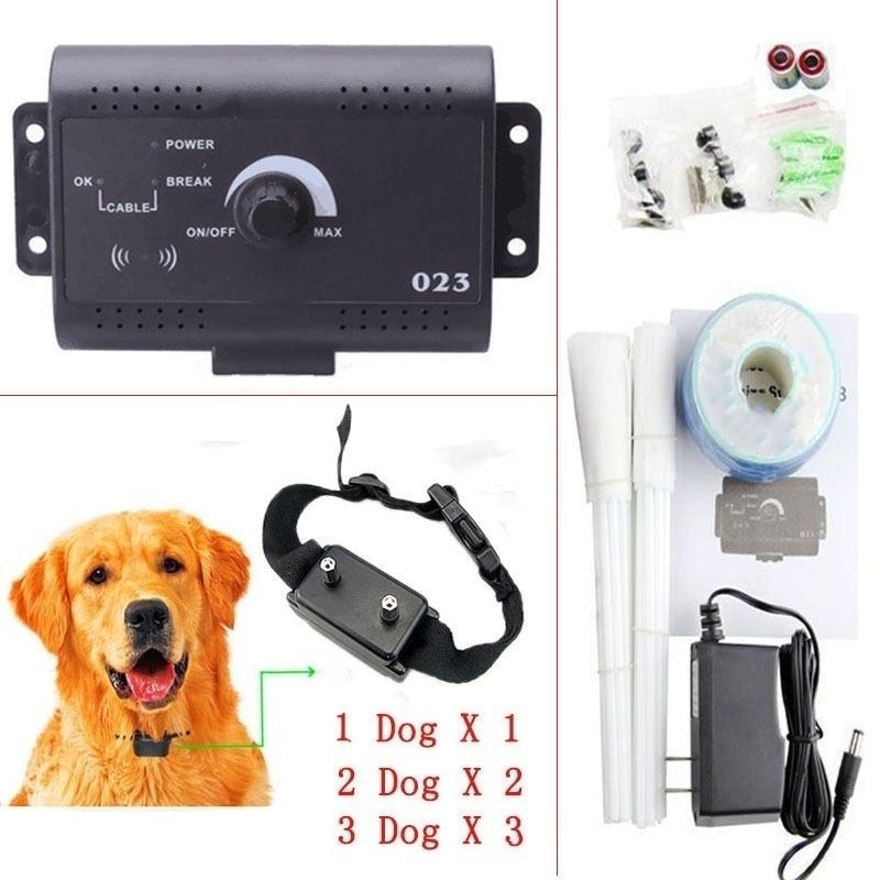 Safe Waterproof Underground Electric Dog Fence Fencing Shock Collar System