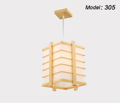 Японский стиль татами дуб Дерево LED деревянный подвесной светильник с ПВХ овчины абажур подвесной светильник для ресторана спальни прохода