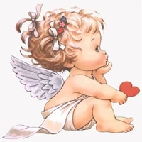 full squareround drill 5d diy diamond painting cartoon angel baby love 3d embroidery cross stitch 5d home decor child gift