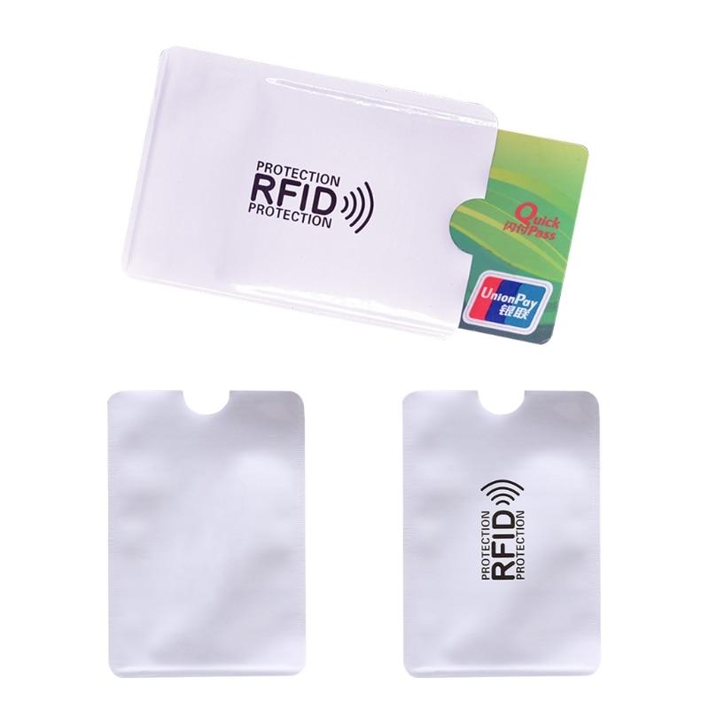 Billetera Anti Rfid para hombre y mujer, bloqueo de lector, soporte de...