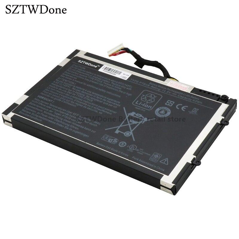 SZTWDONE nuevo PT6V8 batería del ordenador portátil para DELL Alienware M11x R1...