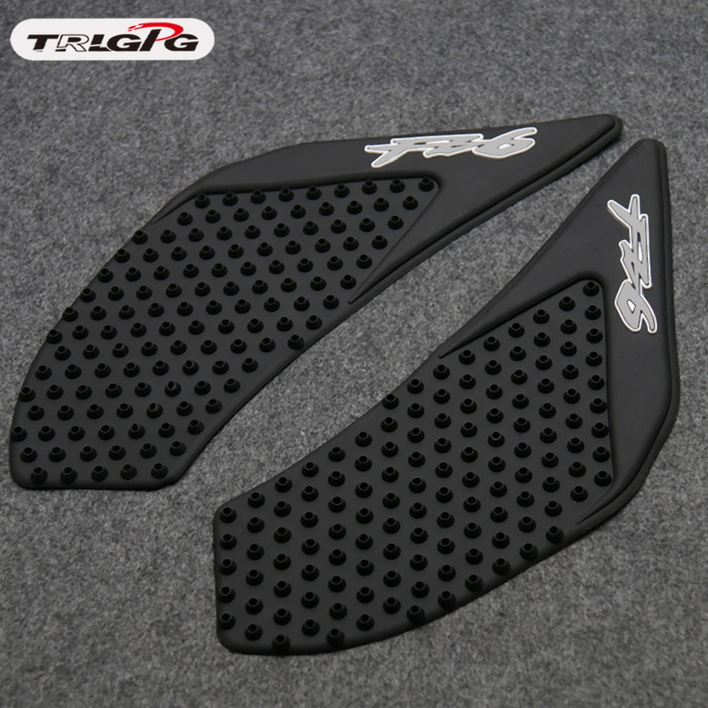 Motorcycle tank pad/grips protector sticker /Protective Pad For Yamaha FZ-6 FZ6 FZ 6 2006-2010 2009 2008 2007