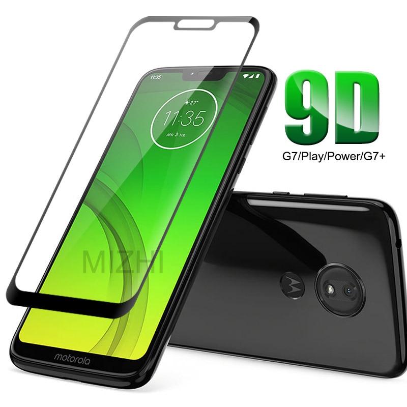 9D стекло для Moto G7 Power чехол для Moto G7 Plus Play Power закаленное стекло на G7Plus G7Play G7Power G 7 7G XT1952 XT1955 чехол