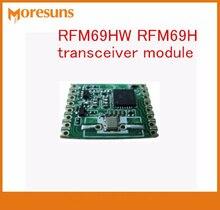 Livraison gratuite rapide 10 pcs/lot RFM69HW RFM69H module émetteur-récepteur 20dBm fréquence 315/433/868/915 MHZ