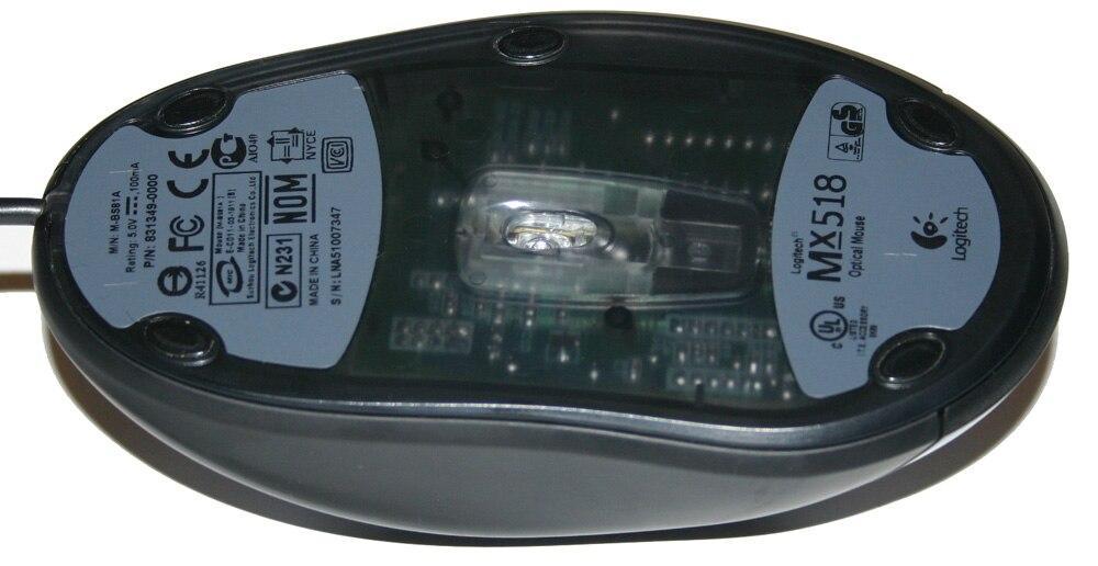 20pcs/pack 3M mouse skates mouse feet for Logitech Mx500 MX510 MX518 MX700 MX900 Teflon mouse pad