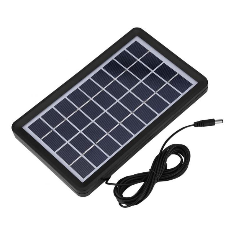 Поликремниевая панель солнечных батарей 9V 3W солнечная панель 93% светопропускание водонепроницаемые аксессуары для солнечного зарядного устройства