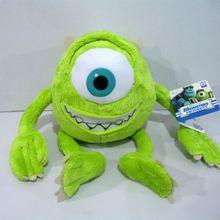 1 pièces 25 cm Mike monstres Mike Wazowski jouets en peluche monstres Inc jouets en peluche meilleur cadeau pour les enfants