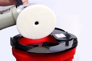 Image 5 - Электрическая полировальная подушка SPTA 20L, полировальная подушка для мытья ведра, полировальная подушка для очистки, шерстяные прокладки, буферная подушка для мытья ведра, шайба