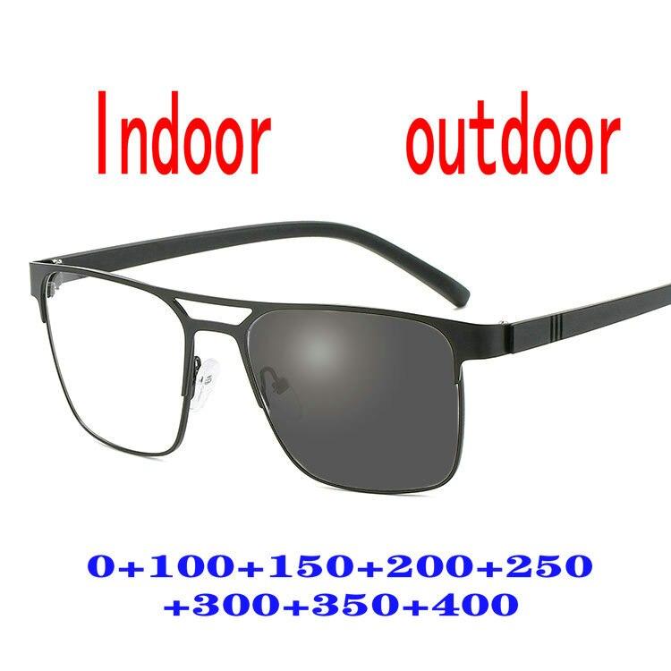 Винтажные многофокальные прогрессивные очки для чтения для мужчин и женщин, пресбиопические очки, солнцезащитные фотохромные очки FML