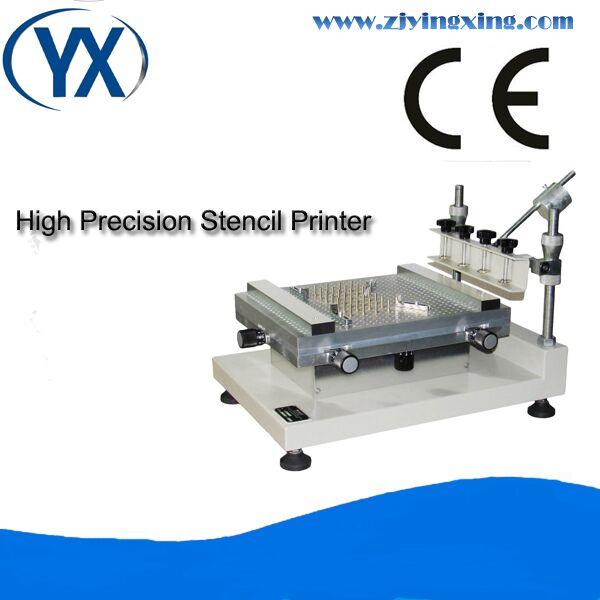 Impresora de plantilla PCB de fácil operación, dispositivo de selección y colocación Manual con PCB Size250 * 400mm/máquina de impresión de plantilla de pantalla