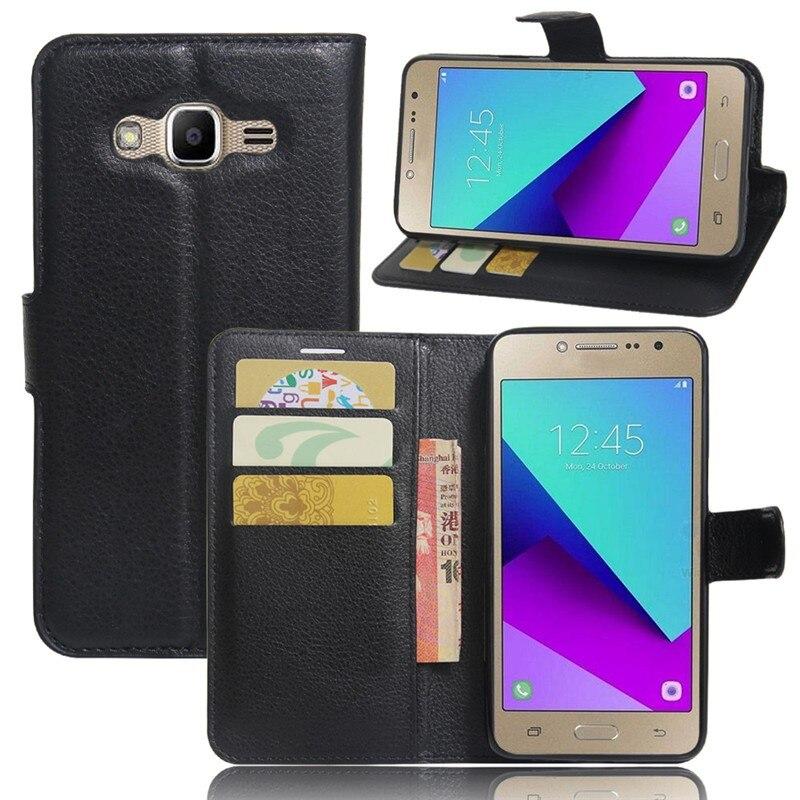 Portefeuille étui pour Samsung Galaxy J2 Premier Couvre SM-G532F G532F G532 En Cuir Pour Samsung J2 Premier Étui De Protection Téléphone Coque