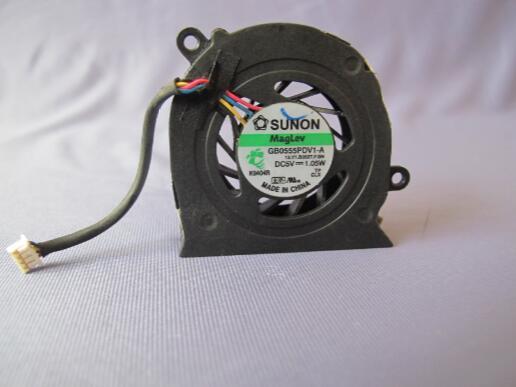 Original elitebook 2530p2530 GB0555PDV1-A dc5v 1.05w 4 linhas ventilador de notebook