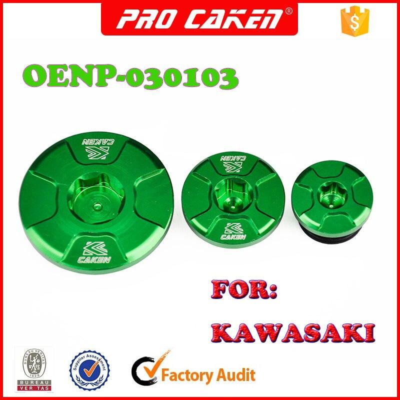 Tapas de temporización del motor, tapones de aceite para kawasaki kx250f kx450f kxf 250 KLX450R, accesorios de piezas de motocicleta todoterreno