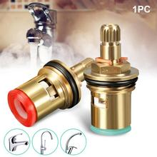 Válvula de Control de temperatura de latón frío caliente grifo de disco de cerámica de 1/2 pulgadas