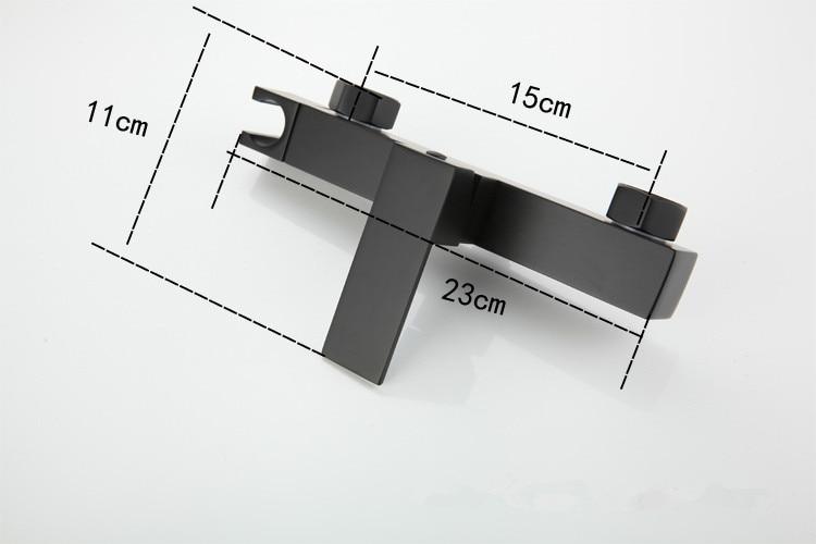 Toilet Bidet Set Square Black Hot Cold Bathroom Toilet Shower Blow-fed Spray Gun Nozzle Bidet Faucet Copper Bathroom Hardware