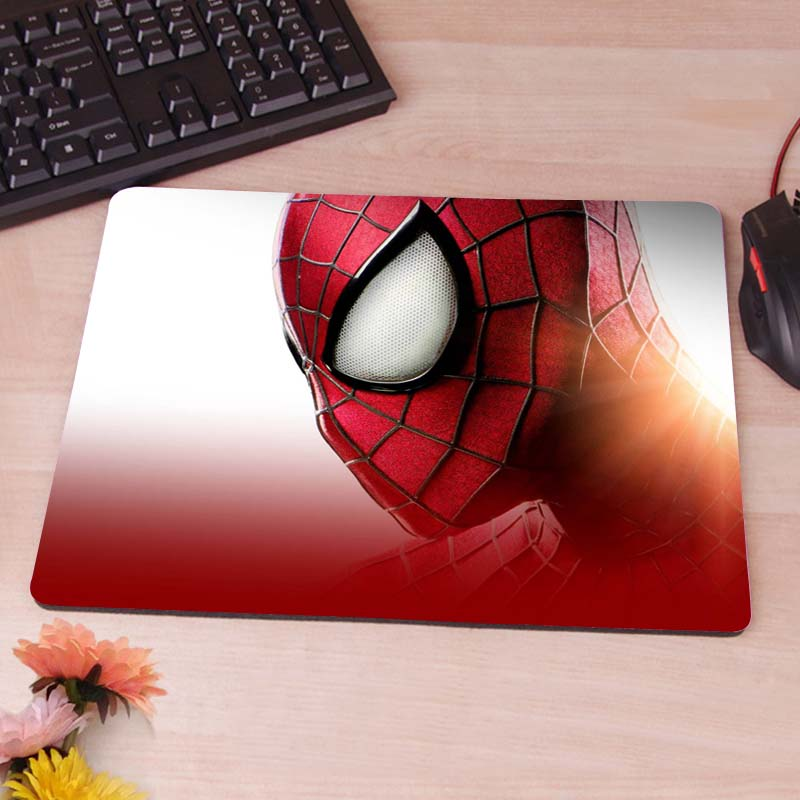 MaiYaCa bigpreview spider man New Arrivals Gaming Personalizado Mesa Tapetes Almofada De Borracha