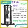 Les compresseurs à défilement réfrigérant 5HP R410a sont utilisés dans les machines de température intégrées au froid et à la chaleur ou les refroidisseurs d'huile