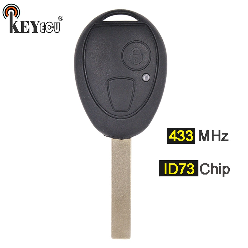 KEYECU 433MHz ID73 Chip de mando a distancia de coche para BMW Mini cobre 2002, 2003, 2004, 2005