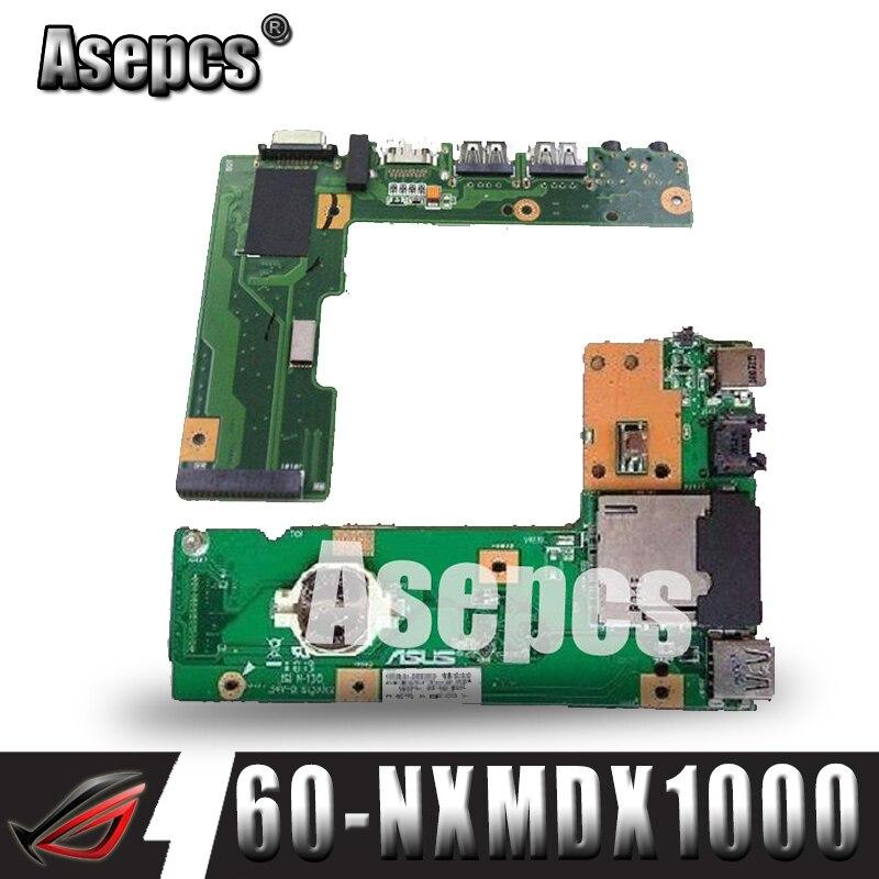 Asepcs originFor Asus k52 k52j k52jr k52jc k52dr x52f k52f x52j dc power jack placa de áudio 60-nxmdc1000 100% testado navio rápido