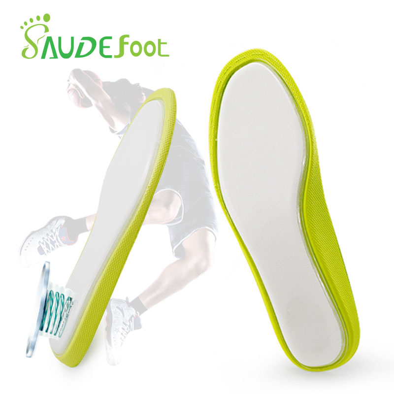 Breathable Air Insoles High-elastic Shock-obsorbant Sport Cushion Shoe Pads Arch Support For Feet Unisex orthopedic Shoe Insoles
