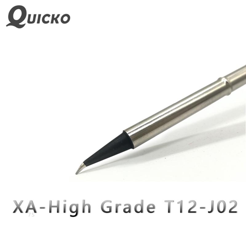QUICKO XA High-grade T12-J02 soldering iron Tip/high-grade soldering Tip for FX9501/951/952