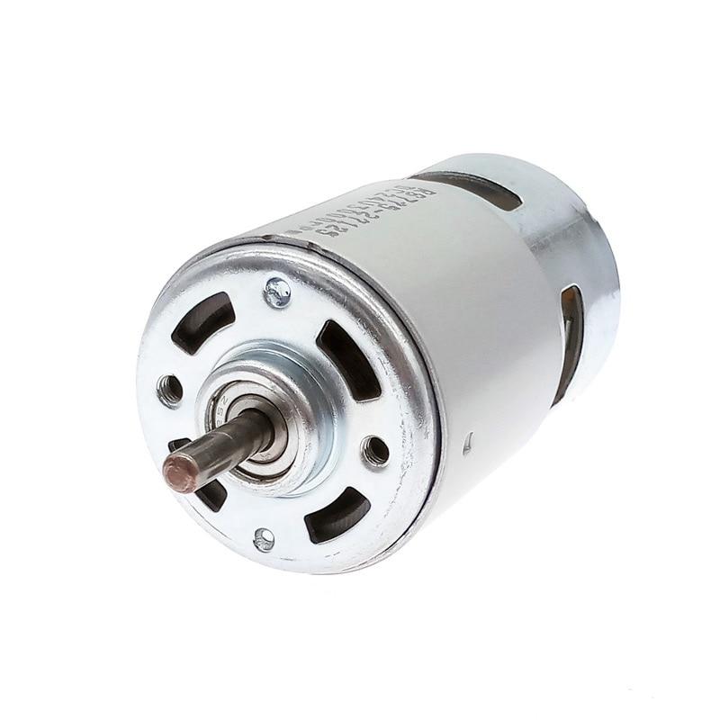 DC12V Motor 775 DC 24V double Ball Bearing 1000rpm8500rpm6000rpm4500rpm3000rpm Large Torque Low Nois