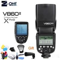 Godox Ving V860II V860II-O 2.4G HSS 1/8000 Li-ion Battery TTL Camera Flash + Wireless Transmitter Xpro-O for Olympus Panasonic