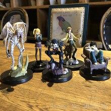 10-29cm 6 pièces/lot dessin animé Note de mort L tueur Ryuuku Rem Misa Amane PVC figurine modèle jouets poupée livraison gratuite