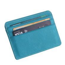 2018 cartera pequeña tarjeta mujer Unisex moda mujeres Lichee patrón tarjeta bancaria paquete de la moneda bolsa de la tarjeta 4,28