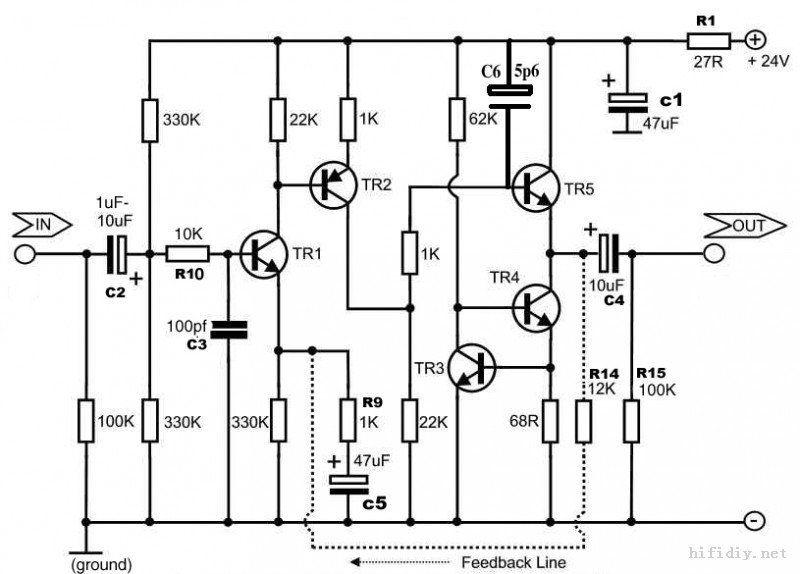 ZEROZONE Assembled hifi Stereo preamplifier board base on naim NAC152 preamp L5-45