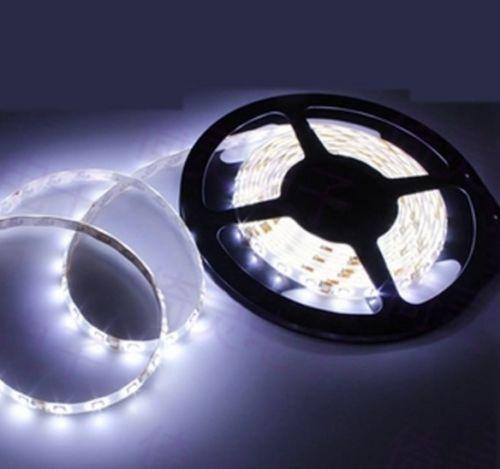 Tira de luces Led DC 12V blanco frío SMD 3528 cinta de Navidad 5M 300Leds