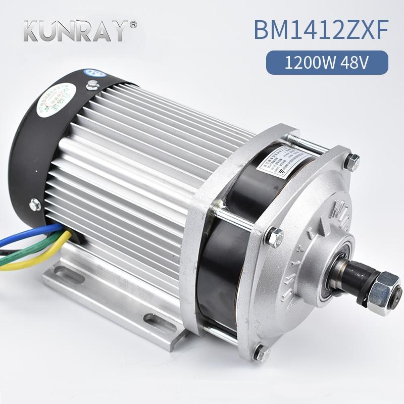 BM1412ZXF-01 1200W 48V 60V BLDC Electric Motor Tricycle Brushless Mid Motor Big Power E-car Three Wheel Engine 3000RPM 3.69N.m