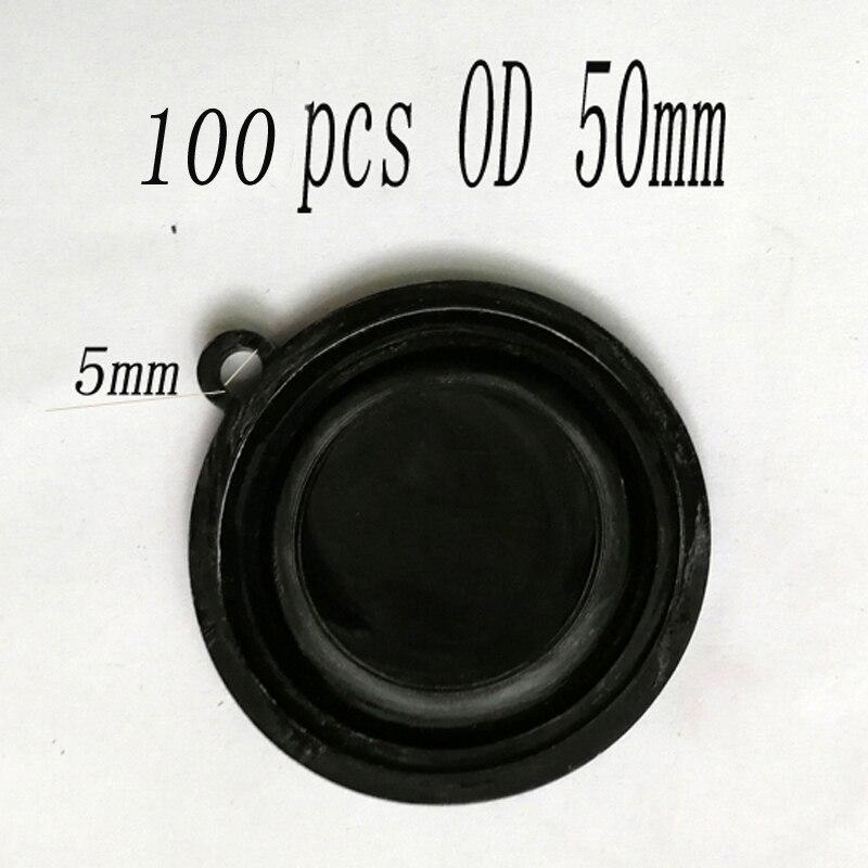 100 Uds OD 50mm Gas calentador de agua presión diafragma accesorios agua Gas Válvula de enlace de agua película de agua Tympanic membrana
