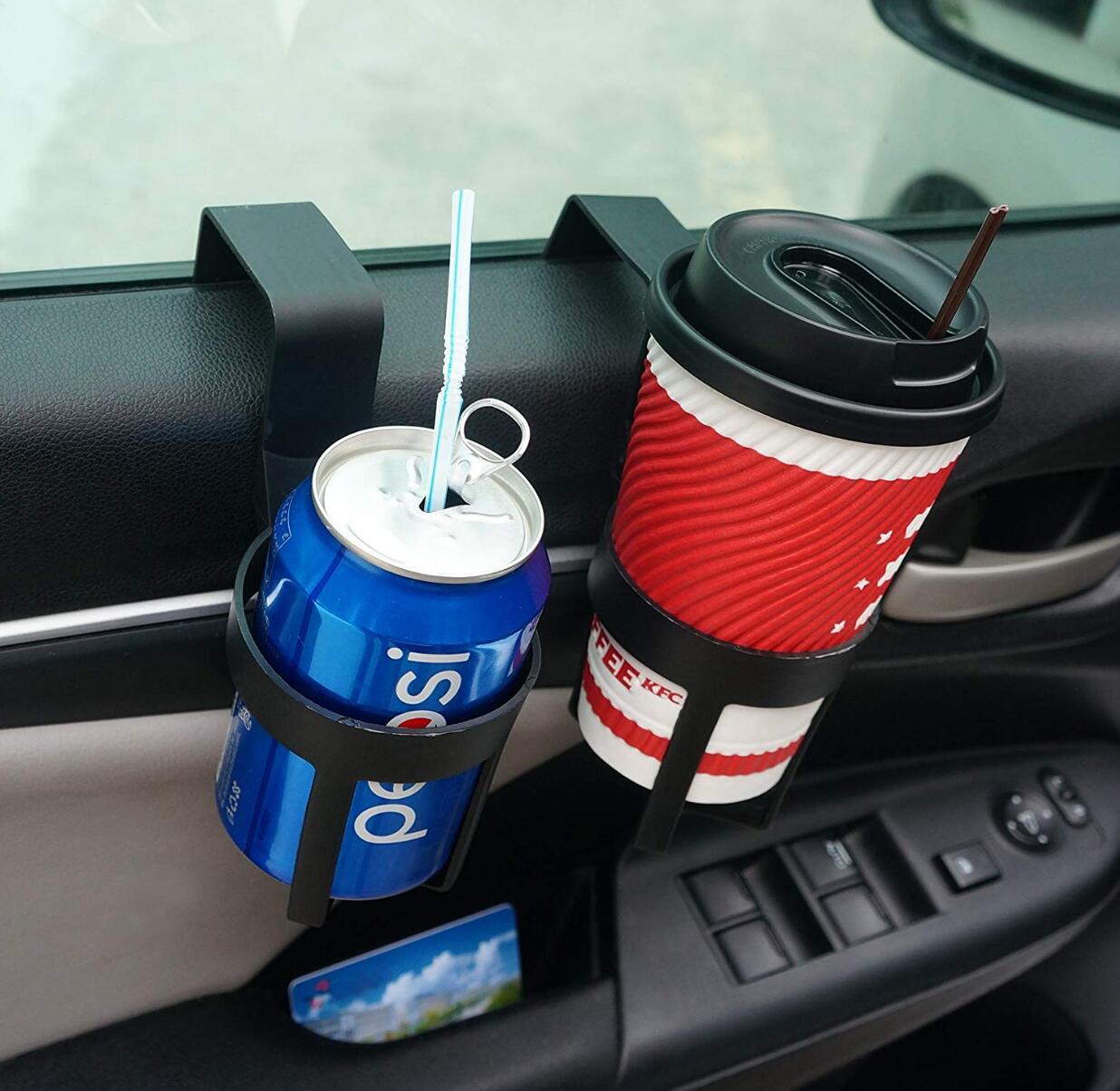 La botella de la taza de la bebida del coche puede montar el soporte para kia sportage 2017 toyota chr skoda octavia suzuki jimny mitsubishi lancer subaru xv
