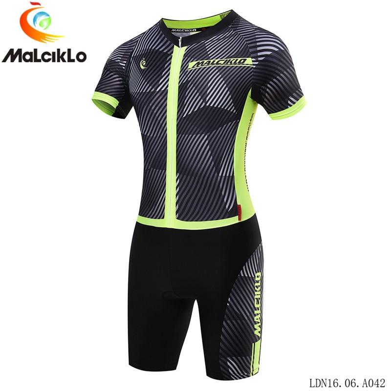 Malciklo-Ropa De ciclismo profesional para mujer conjunto De camisetas De triatlón, traje...