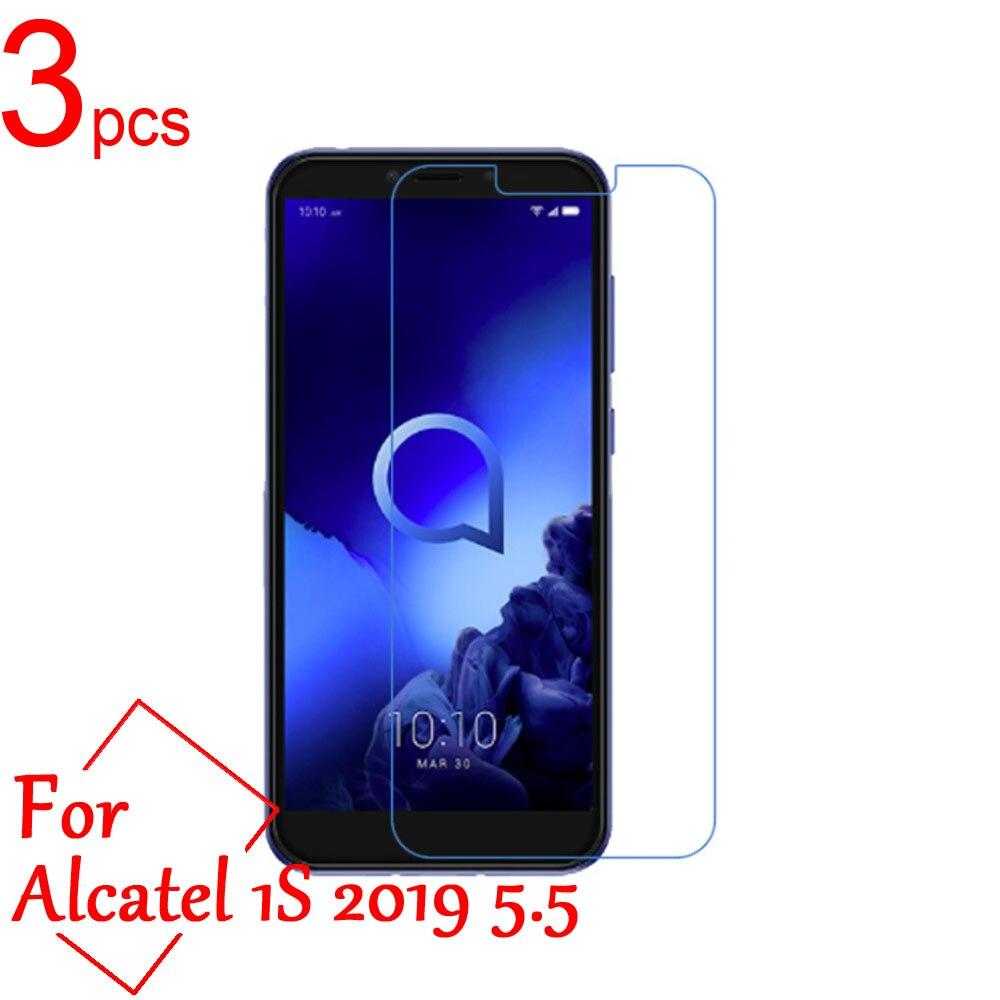 3 шт ультра-прозрачная/матовая/нано Противоударная ЖК-защитная пленка для экрана для Alcatel 1S 1C 1X 2019 защитная пленка