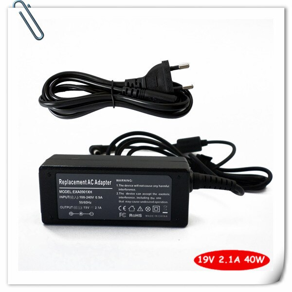 Portátil cable de alimentación para Samsung a N310-13GMB N310-13GO N310-13GB Np-nd10 NP-NC10 NP-ND10 Sens 630 N310 19V 2.1A 40W