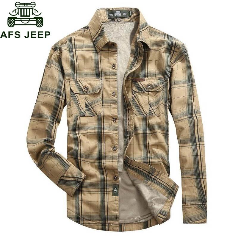 ¡Novedad! Camisas para hombre 2018 de lana cálida de manga larga, Camisa informal para hombre de talla grande 5XL, Camisa masculina para hombre
