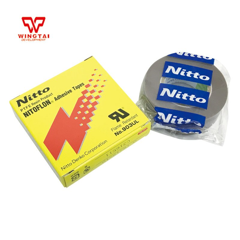 Nitto bande adhésive électronique   Bande adhésive électronique, pour Machine à mouler, 903UL T0.18mm * W19mm * L10m NITTO DENKO nitogeon, 10 pièces/lot