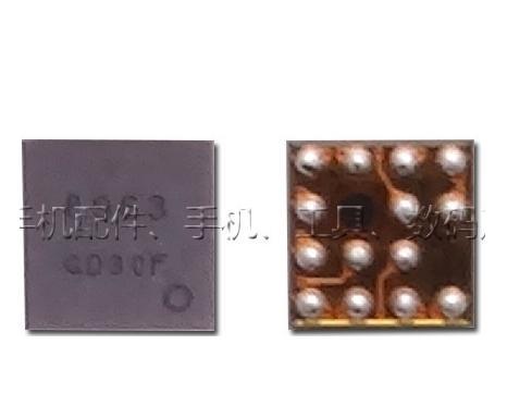 20 unids/lote para iPhone i5 5 5G 5S 5C Brújula de pravity IC 8963 14 pin U16 sensor IC chip en la placa base