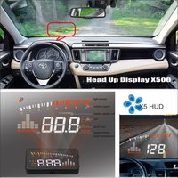 For TOYOTA RAV4 RAV-4 RAV 4 - Car HUD Head Up Display - Safe Driving Screen Projector Refkecting Windshield