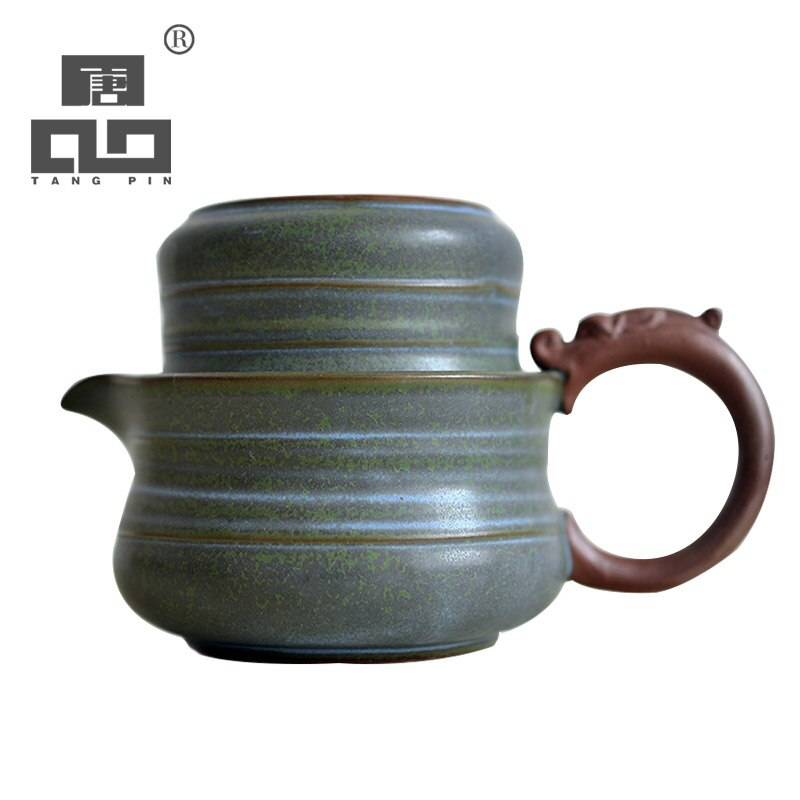TANGPIN-إبريق شاي سيراميك ياباني ، غلاية gaiwan ، طقم شاي محمول للسفر