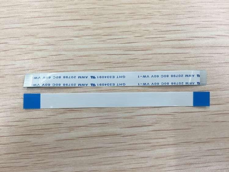 5 unids/lote 14 PIN USB puerto de carga de energía Placa de zócalo flexible Cable de cinta para PS4 controlador Dualshock 4