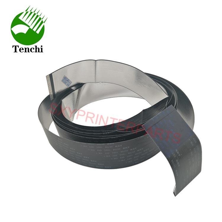 5 unids/lote 36 pulgadas color negro plotter a CR357-67027 detrás de cable para HP T920 T930 T1500 T3500 T2500
